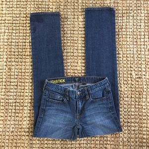 J.Crew Women's Matchstick Jeans Size 26
